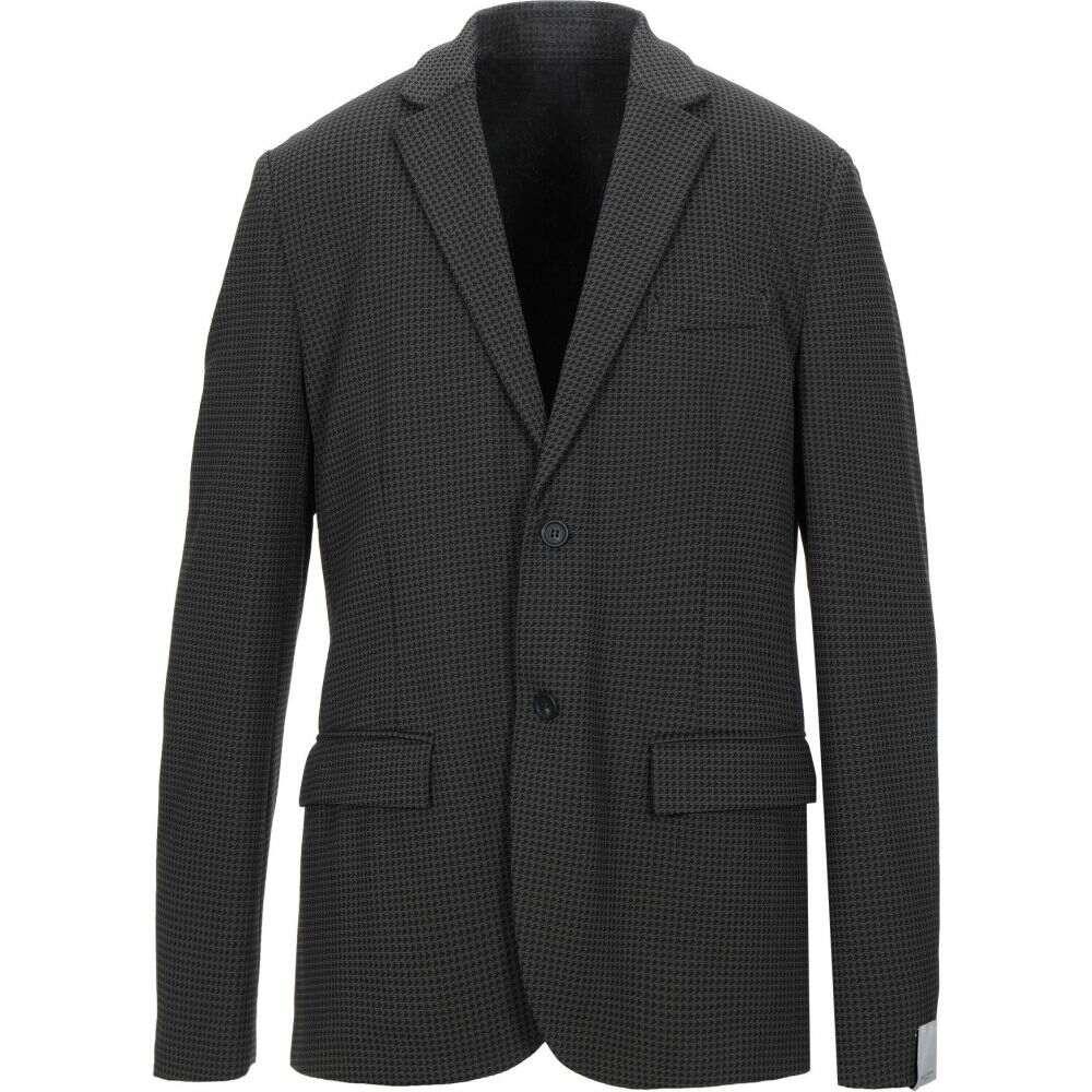 パオロ ペコラ PAOLO PECORA メンズ スーツ・ジャケット アウター【blazer】Black