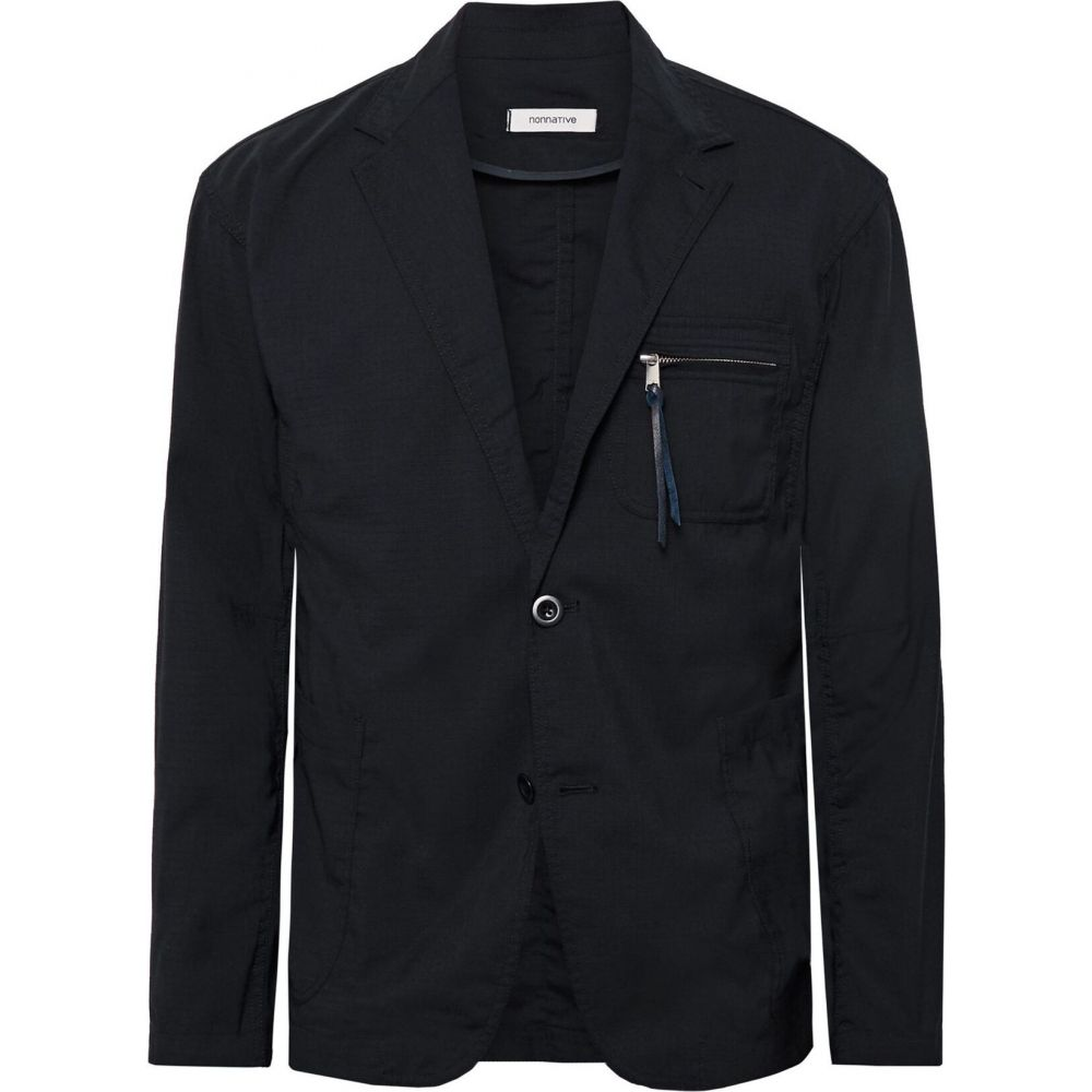 ノンネイティブ NONNATIVE メンズ スーツ・ジャケット アウター【blazer】Dark blue
