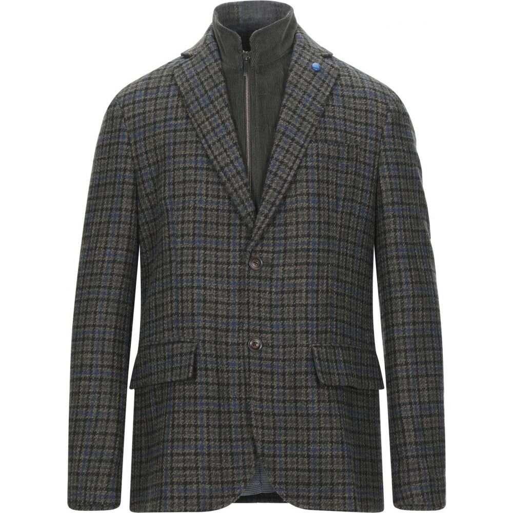 ハーモント アンド ブレイン HARMONT&BLAINE メンズ スーツ・ジャケット アウター【blazer】Military green