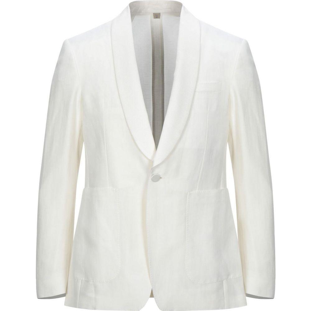 バーバリー BURBERRY メンズ スーツ・ジャケット アウター【blazer】White