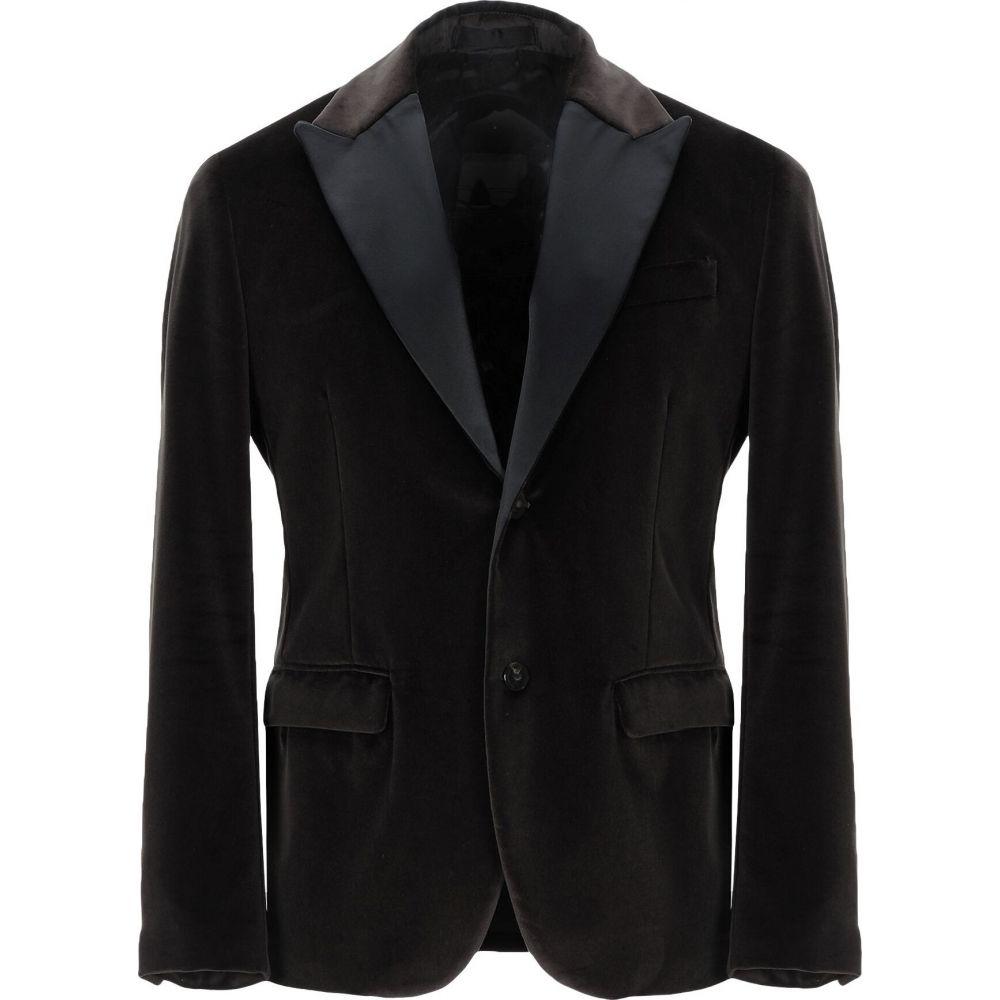 パオロ ペコラ PAOLO PECORA メンズ スーツ・ジャケット アウター【blazer】Dark green