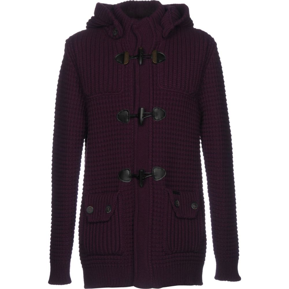 バーク BARK メンズ コート アウター【coat】Purple