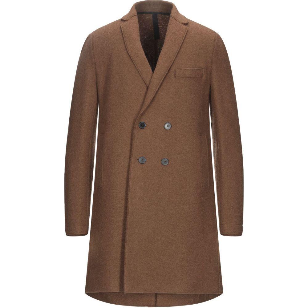 ハリスワーフロンドン HARRIS WHARF LONDON メンズ コート アウター【coat】Cocoa