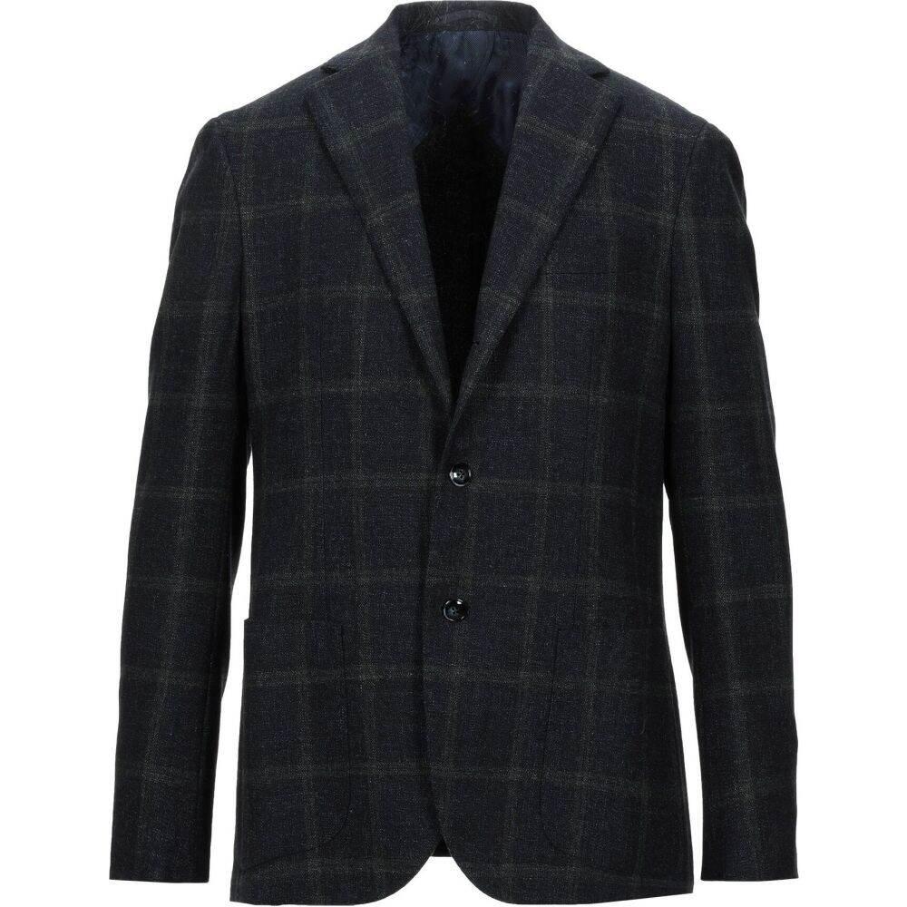 バルバ BARBA Napoli メンズ スーツ・ジャケット アウター【blazer】Dark blue