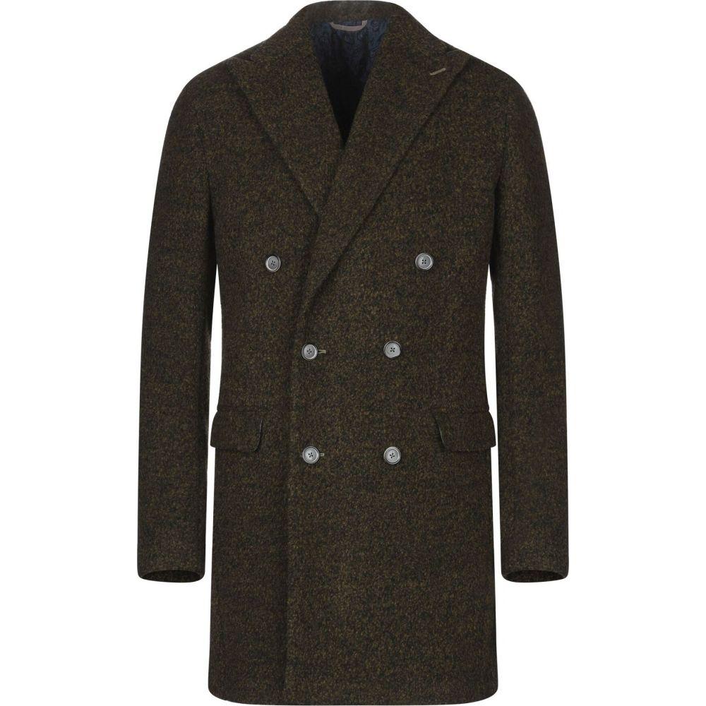 バルバ BARBA Napoli メンズ コート アウター【coat】Khaki