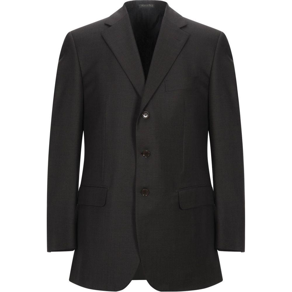 パルジレリ PAL ZILERI メンズ スーツ・ジャケット アウター【blazer】Dark brown