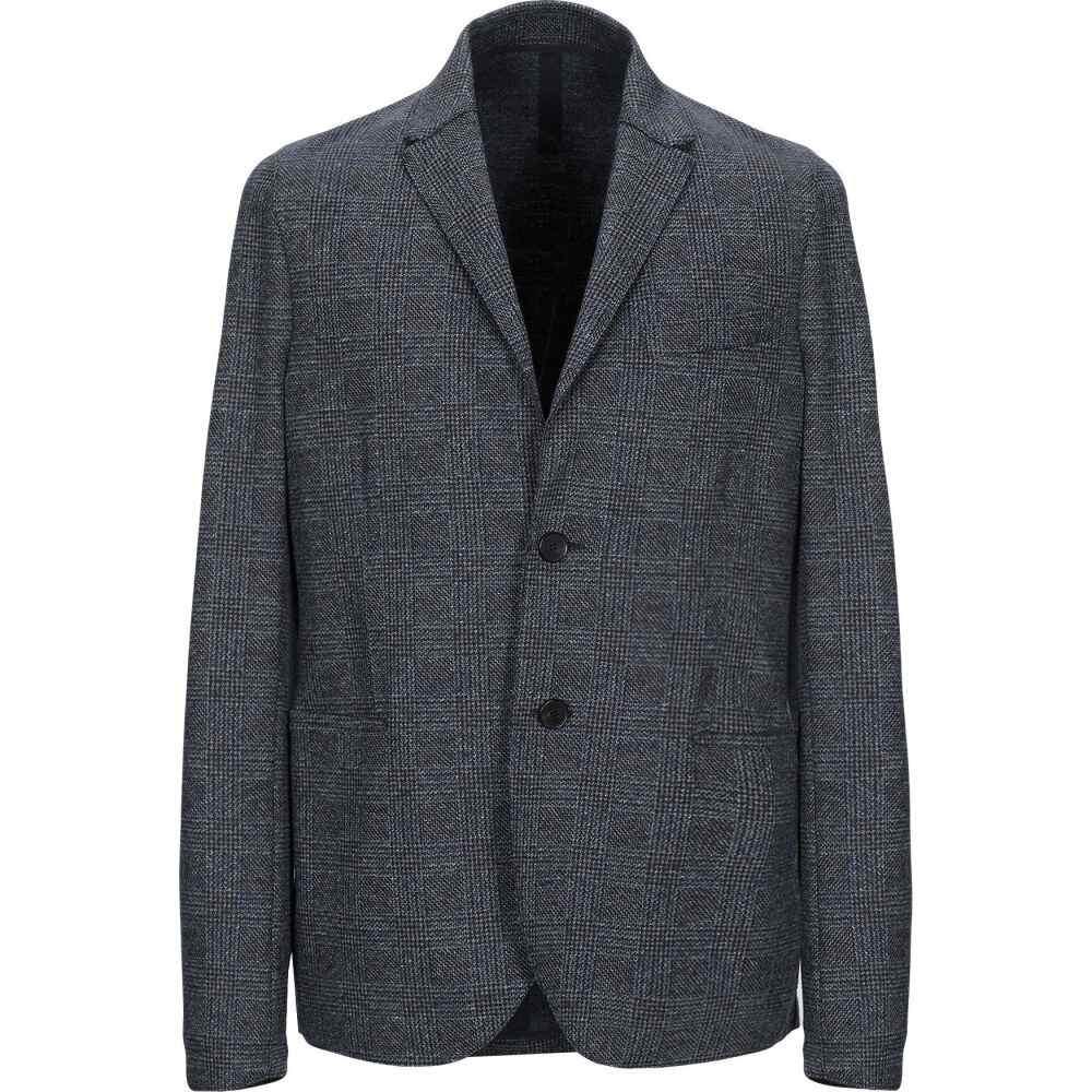 <title>ハリスワーフロンドン メンズ 贈呈 アウター スーツ ジャケット Grey サイズ交換無料 HARRIS WHARF LONDON blazer</title>