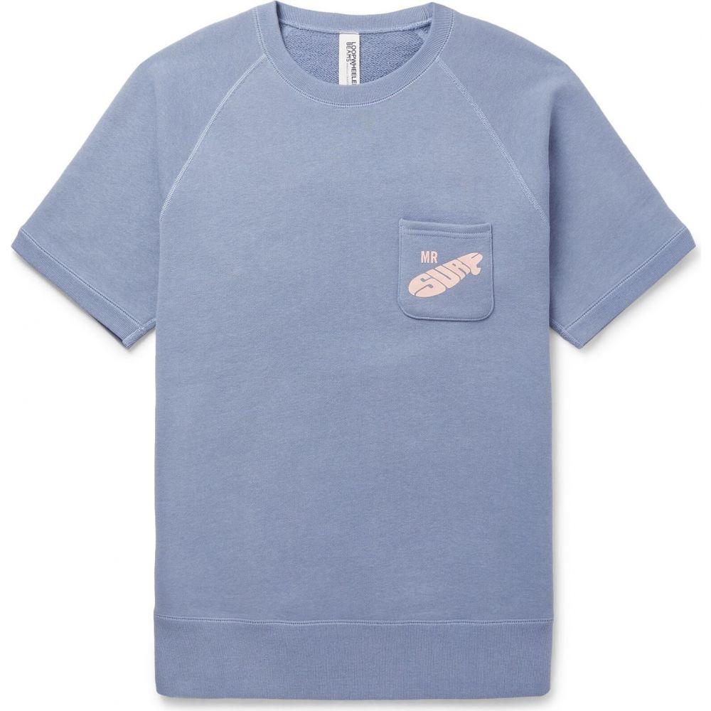 ビームス BEAMS メンズ スウェット・トレーナー トップス【sweatshirt】Pastel blue