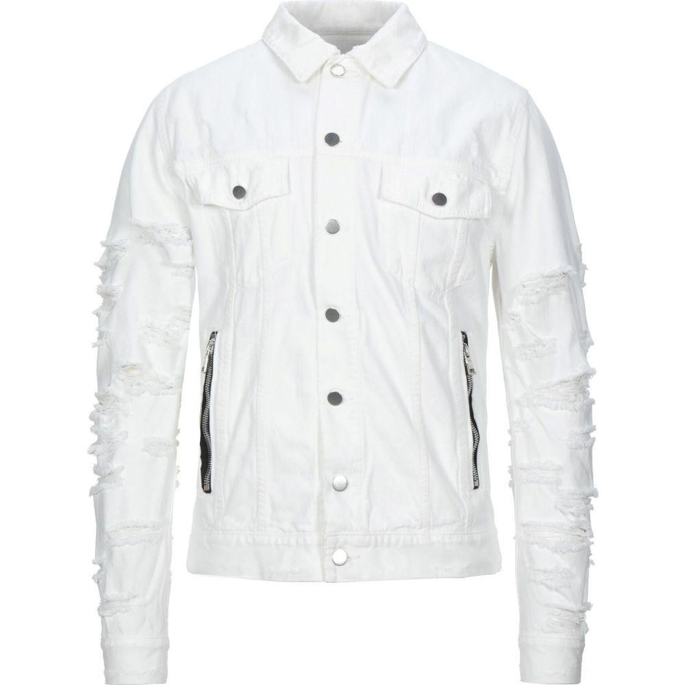 バルマン BALMAIN メンズ ジャケット Gジャン アウター【denim jacket】White