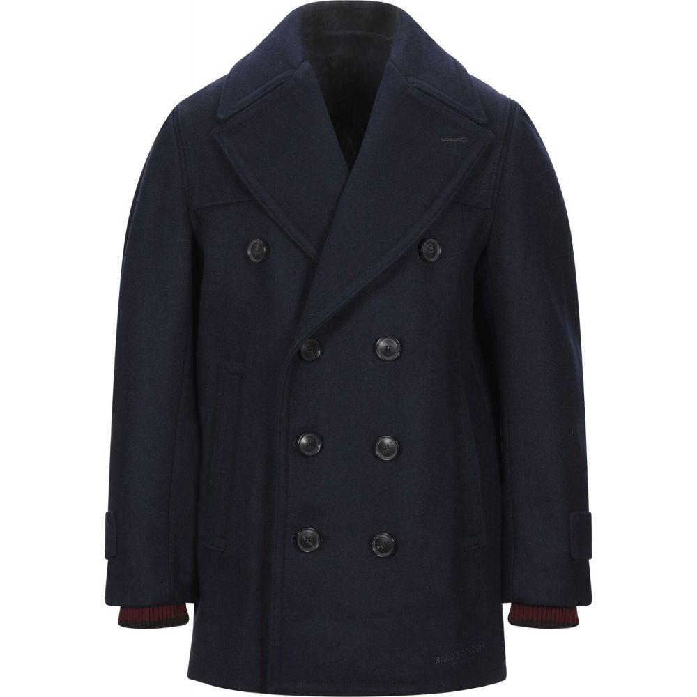 バンドオブアウトサイダーズ BAND OF OUTSIDERS メンズ コート アウター【coat】Dark blue