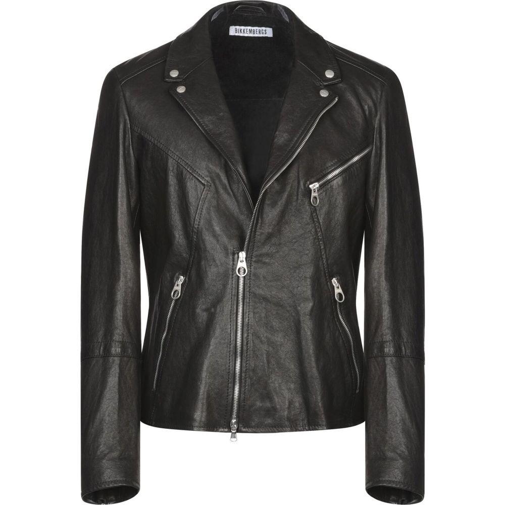 ビッケンバーグ BIKKEMBERGS メンズ ジャケット ライダース アウター【biker jacket】Black
