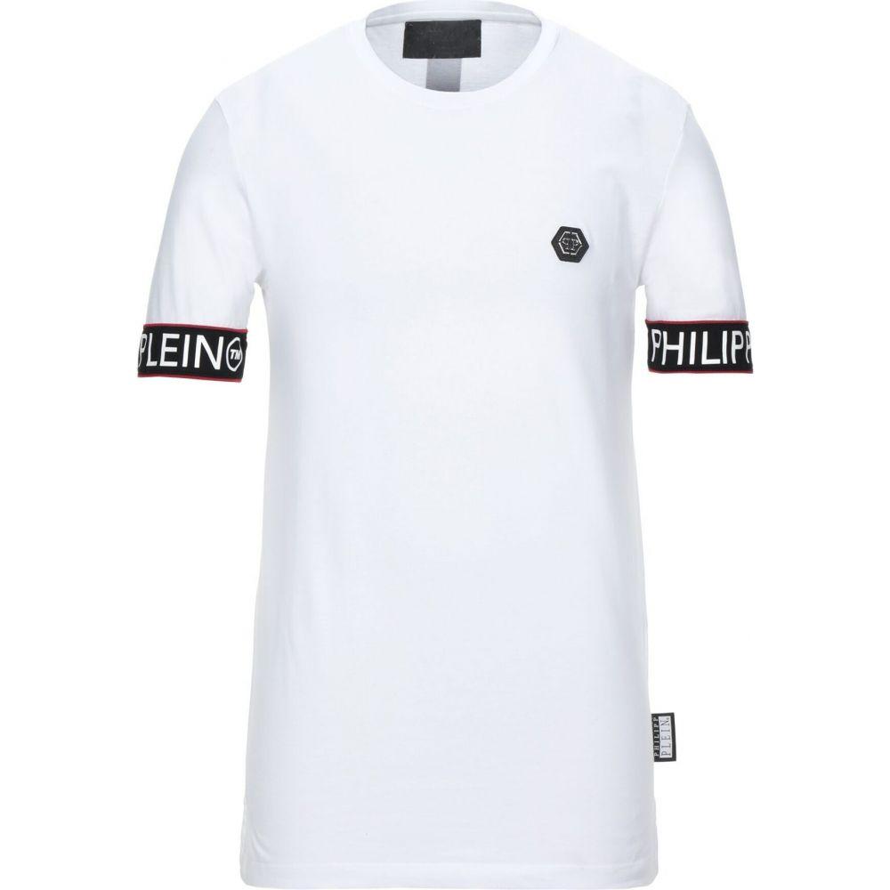 フィリップ プレイン PHILIPP PLEIN メンズ Tシャツ トップス【t-shirt】White
