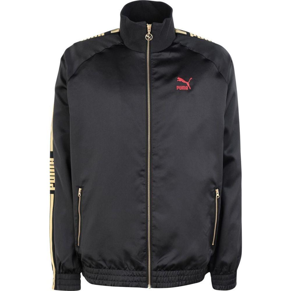 プーマ PUMA メンズ ジャージ アウター【luxe pack track jacket】Black