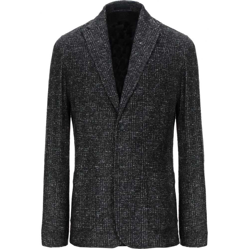 フトゥーロ FUTURO メンズ スーツ・ジャケット アウター【blazer】Black
