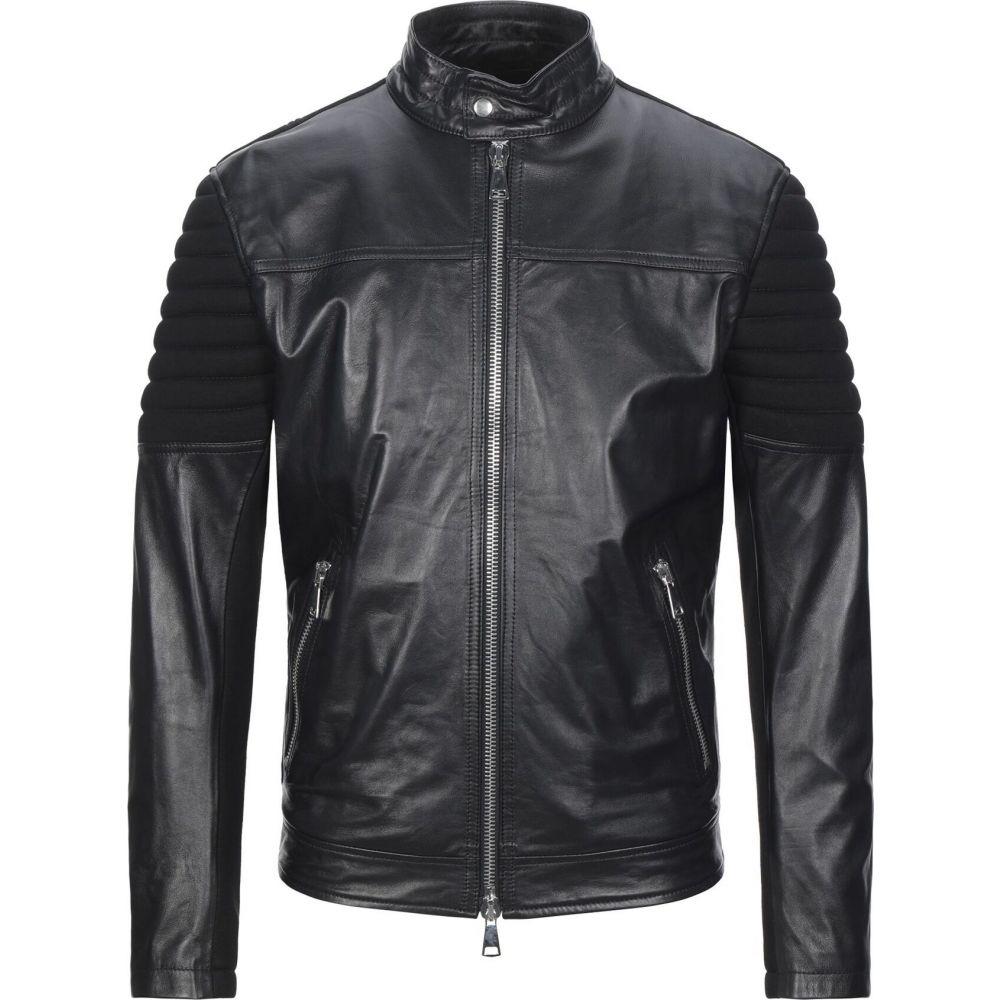 ブライアン デールズ BRIAN DALES メンズ ジャケット ライダース アウター【biker jacket】Black