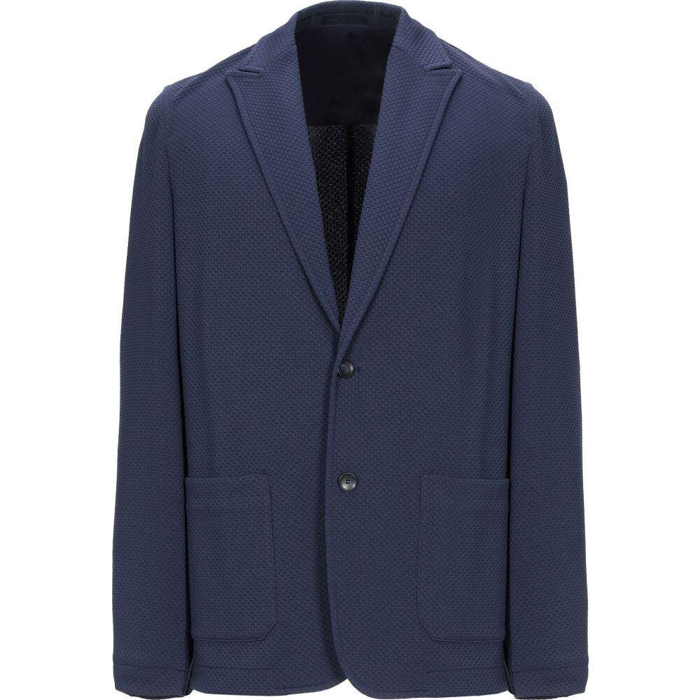フトゥーロ FUTURO メンズ スーツ・ジャケット アウター【blazer】Dark blue