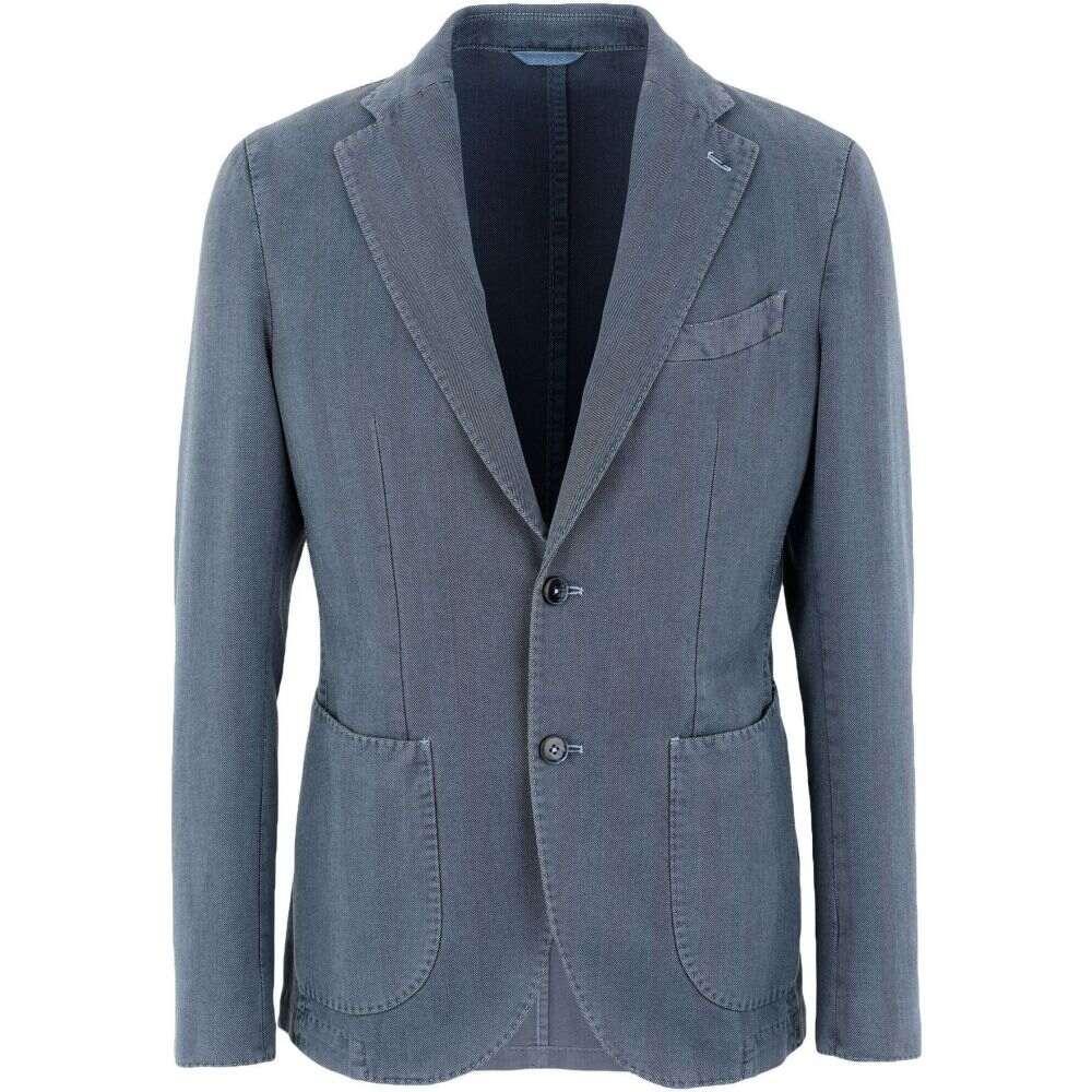 ブランド BRANDO メンズ スーツ・ジャケット アウター【blazer】Slate blue