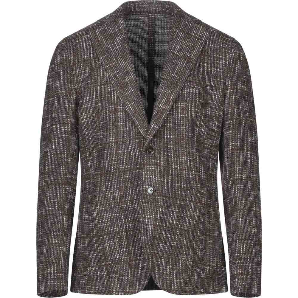 <title>爆安 ブランド メンズ アウター スーツ ジャケット Dark brown サイズ交換無料 BRANDO blazer</title>