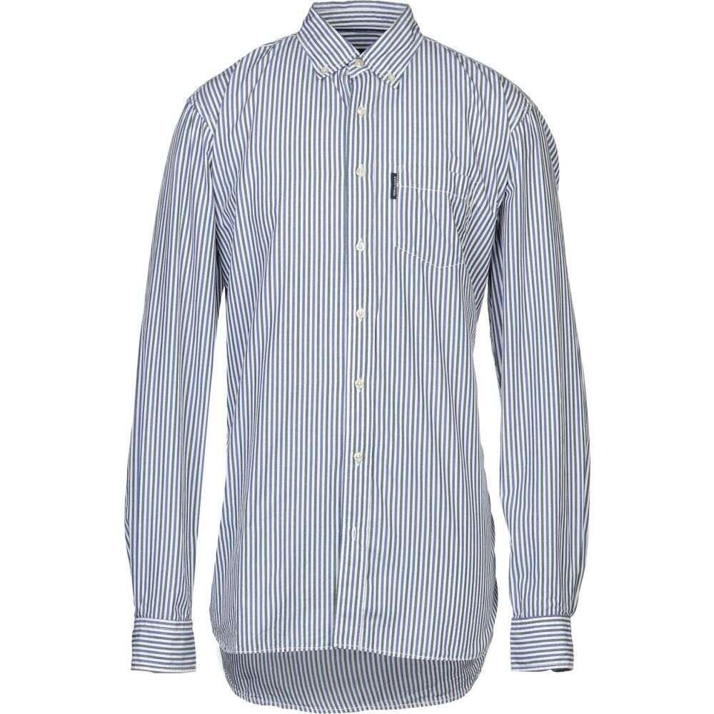 ノースセール NORTH SAILS メンズ シャツ トップス【striped shirt】Dark green