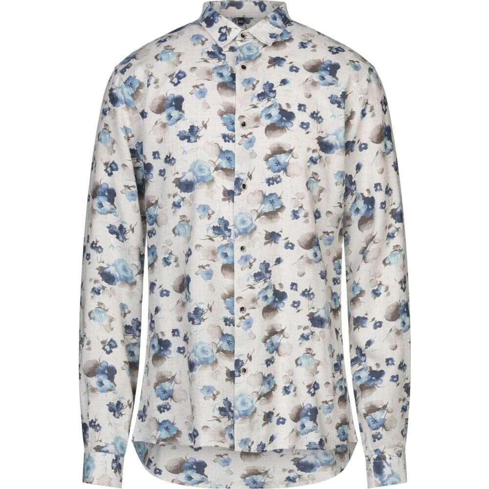 ニール カッター NEILL KATTER メンズ シャツ トップス【patterned shirt】Ivory