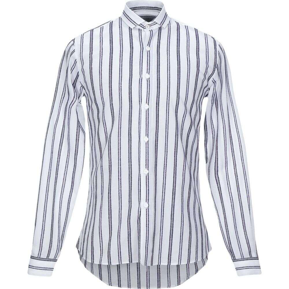 ニール カッター NEILL KATTER メンズ シャツ トップス【striped shirt】White