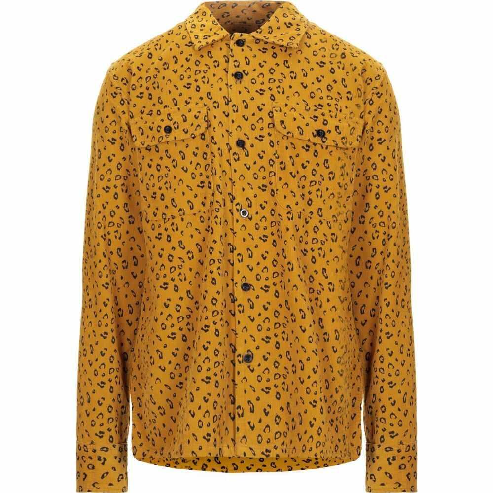 オベイ OBEY メンズ シャツ トップス【patterned shirt】Ocher