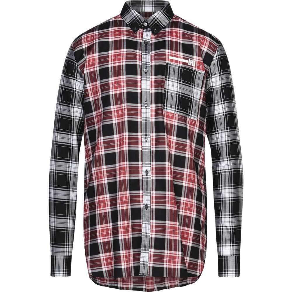 レゾム LES HOMMES メンズ シャツ トップス【checked shirt】Red