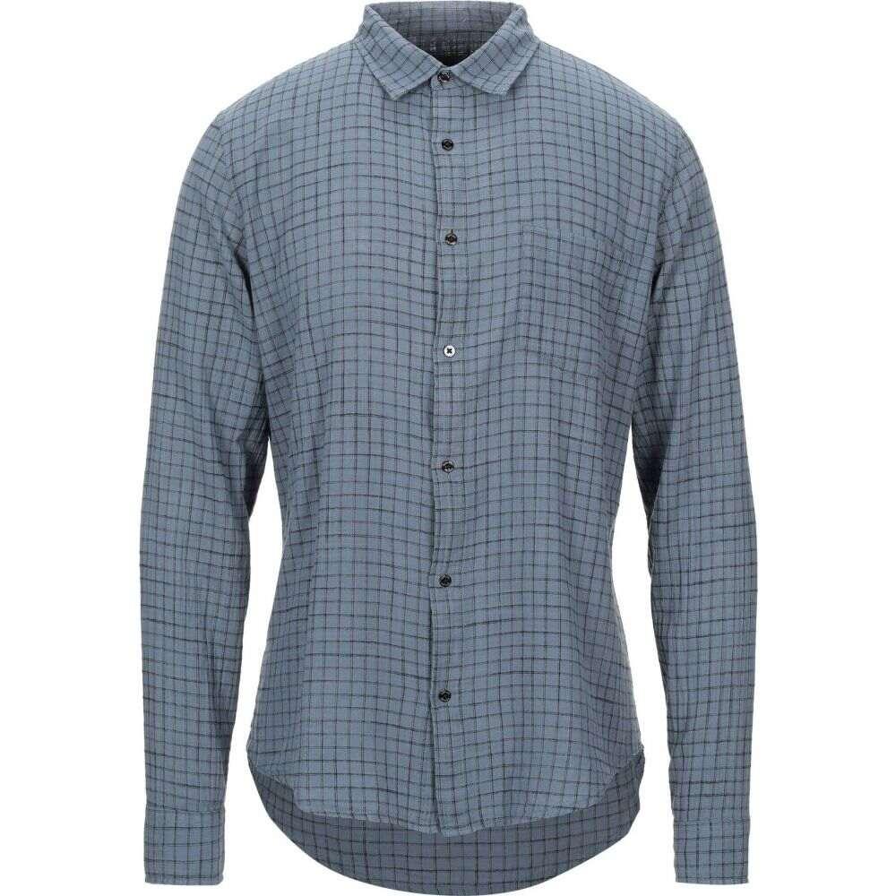 オスクレン OSKLEN メンズ シャツ トップス【checked shirt】Slate blue