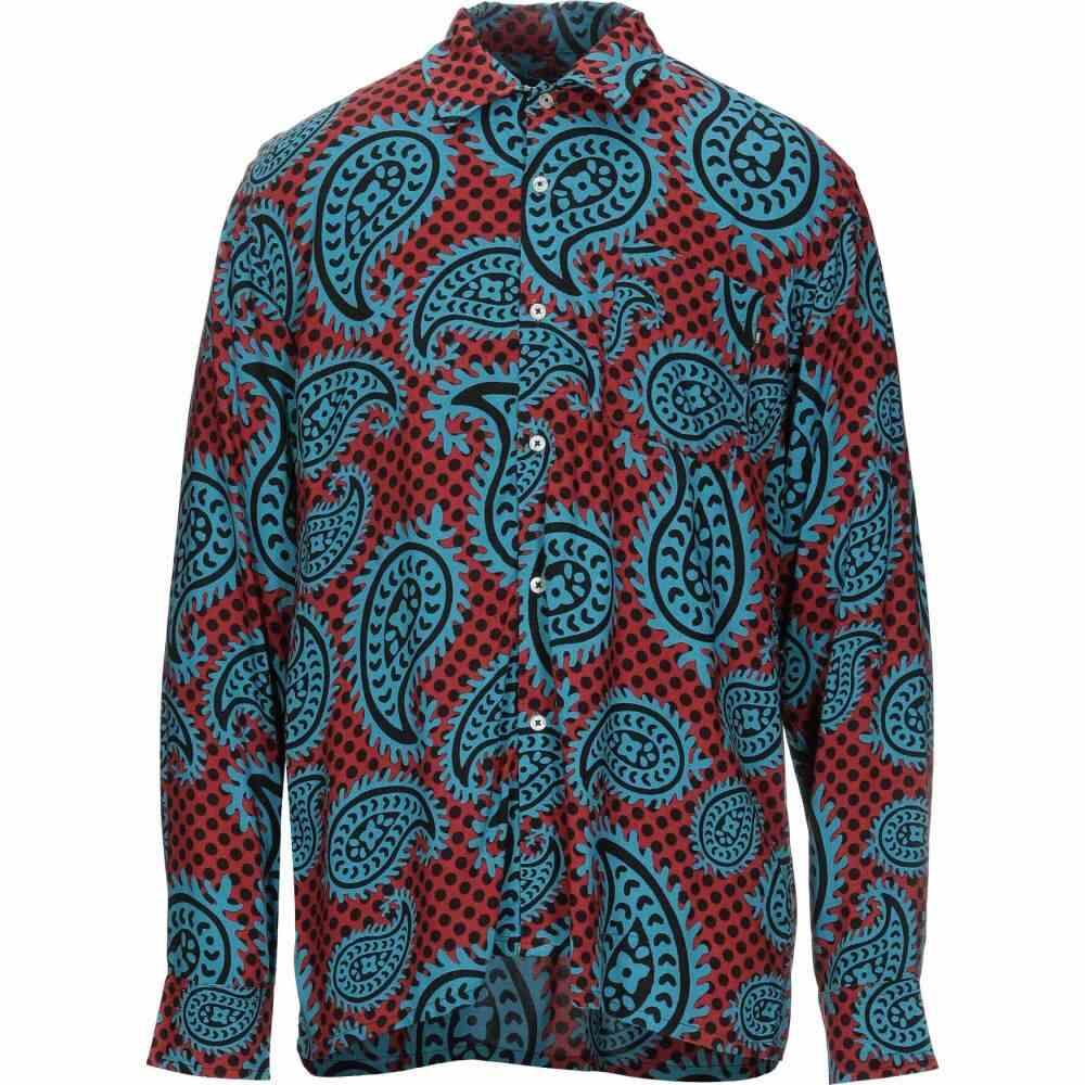オベイ OBEY メンズ シャツ トップス【patterned shirt】Azure