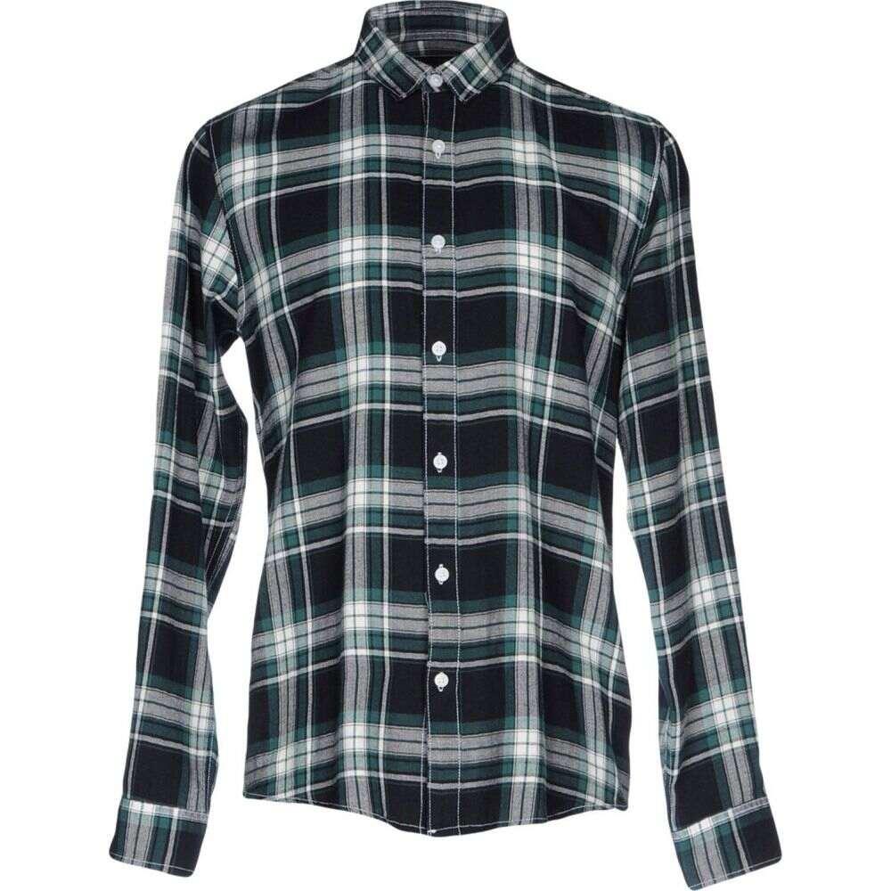 オンリーアンドサンズ ONLY & SONS メンズ シャツ トップス【checked shirt】Dark green