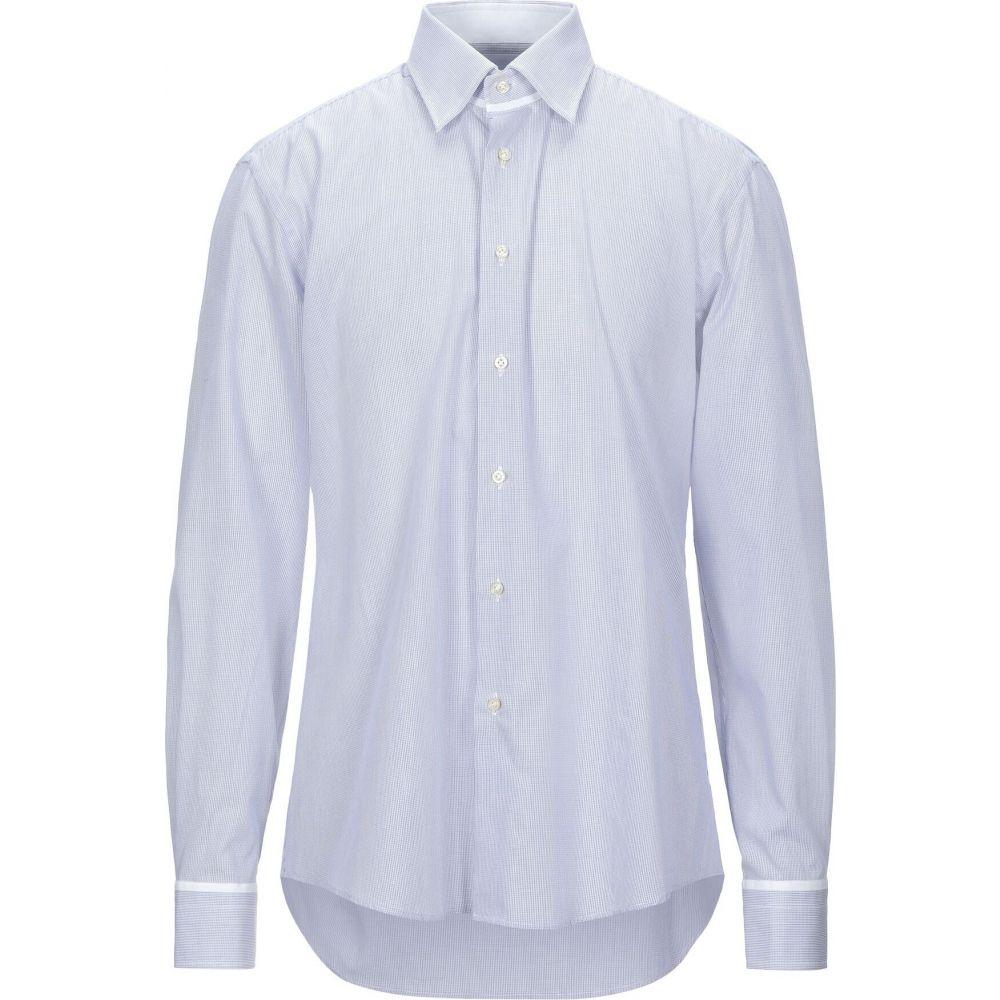 パル ジレリ PAL ZILERI メンズ シャツ トップス【checked shirt】Azure