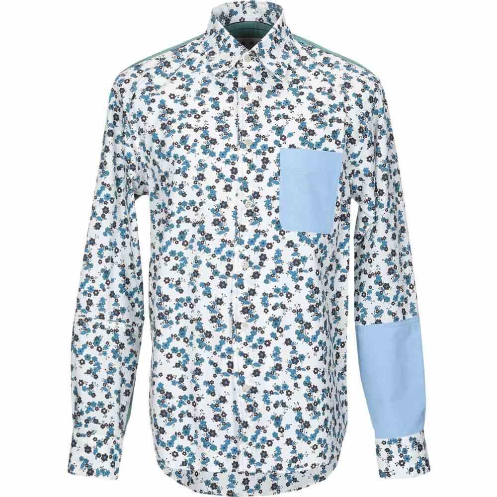 マルニ MARNI メンズ シャツ トップス【patterned shirt】Blue