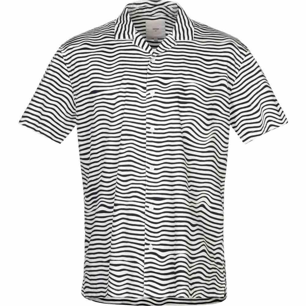 ミニマム MINIMUM メンズ シャツ トップス【striped shirt】Dark blue
