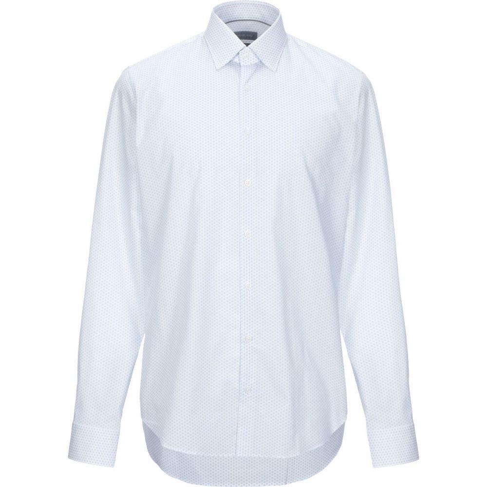 マイケル コース MICHAEL KORS MENS メンズ シャツ トップス【patterned shirt】White