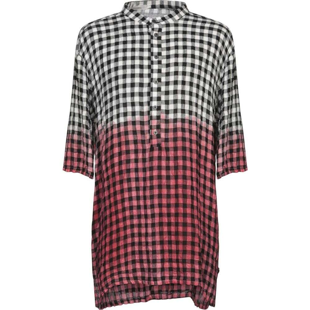 ノストラサンティッシマ NOSTRASANTISSIMA メンズ シャツ トップス【checked shirt】Red