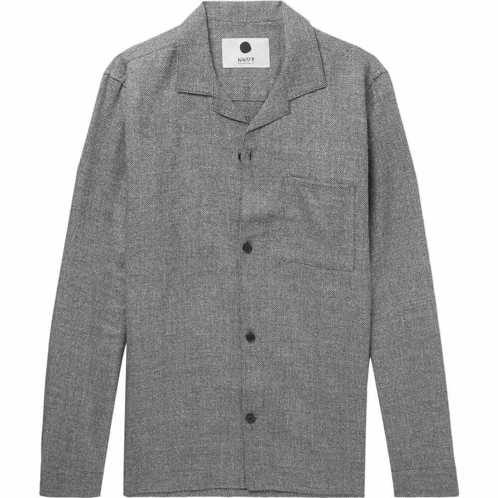 NN07 メンズ シャツ トップス【patterned shirt】Grey