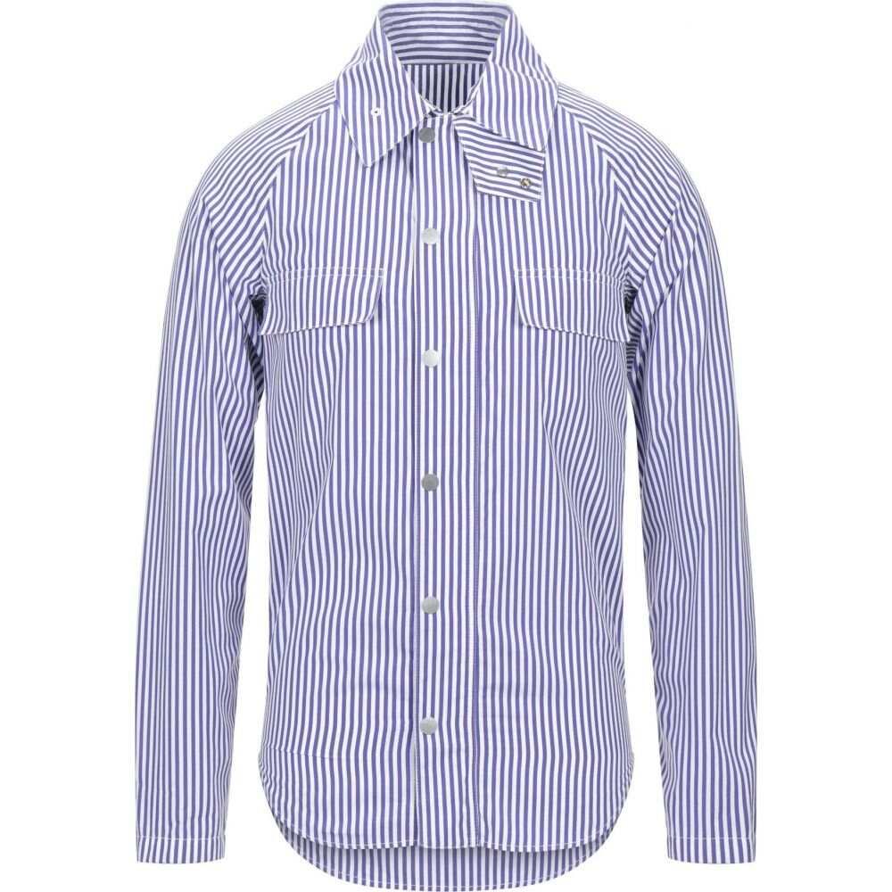 メゾン マルジェラ MAISON MARGIELA メンズ シャツ トップス【striped shirt】Purple