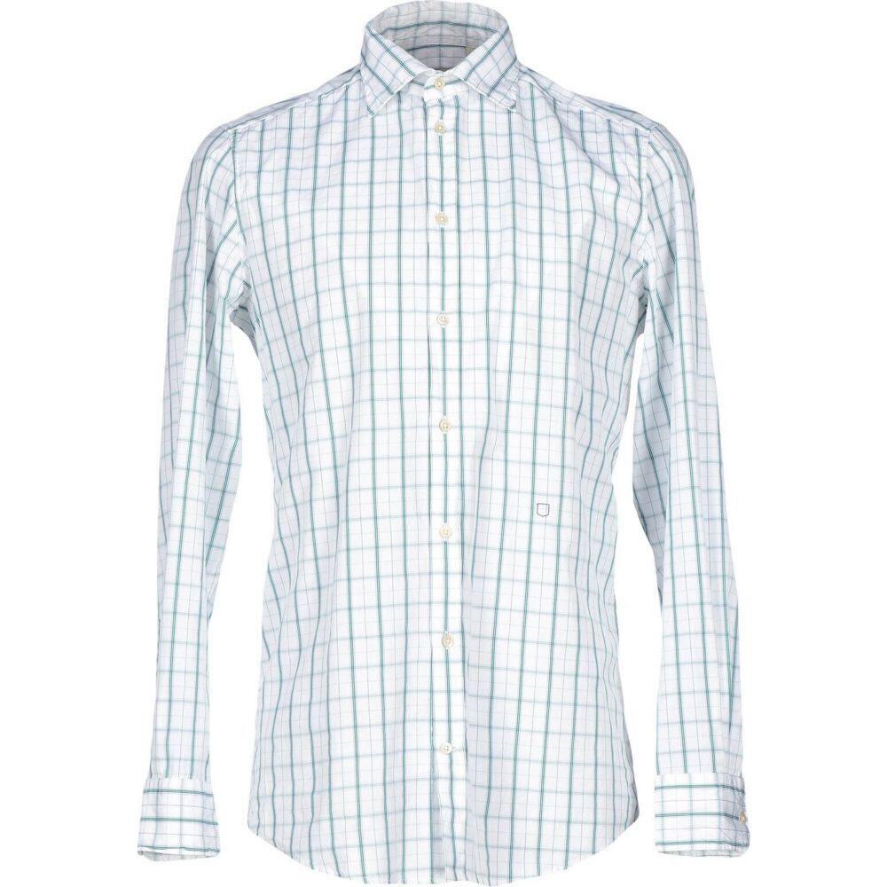 マッシモ アルバ MASSIMO ALBA メンズ シャツ トップス【checked shirt】White