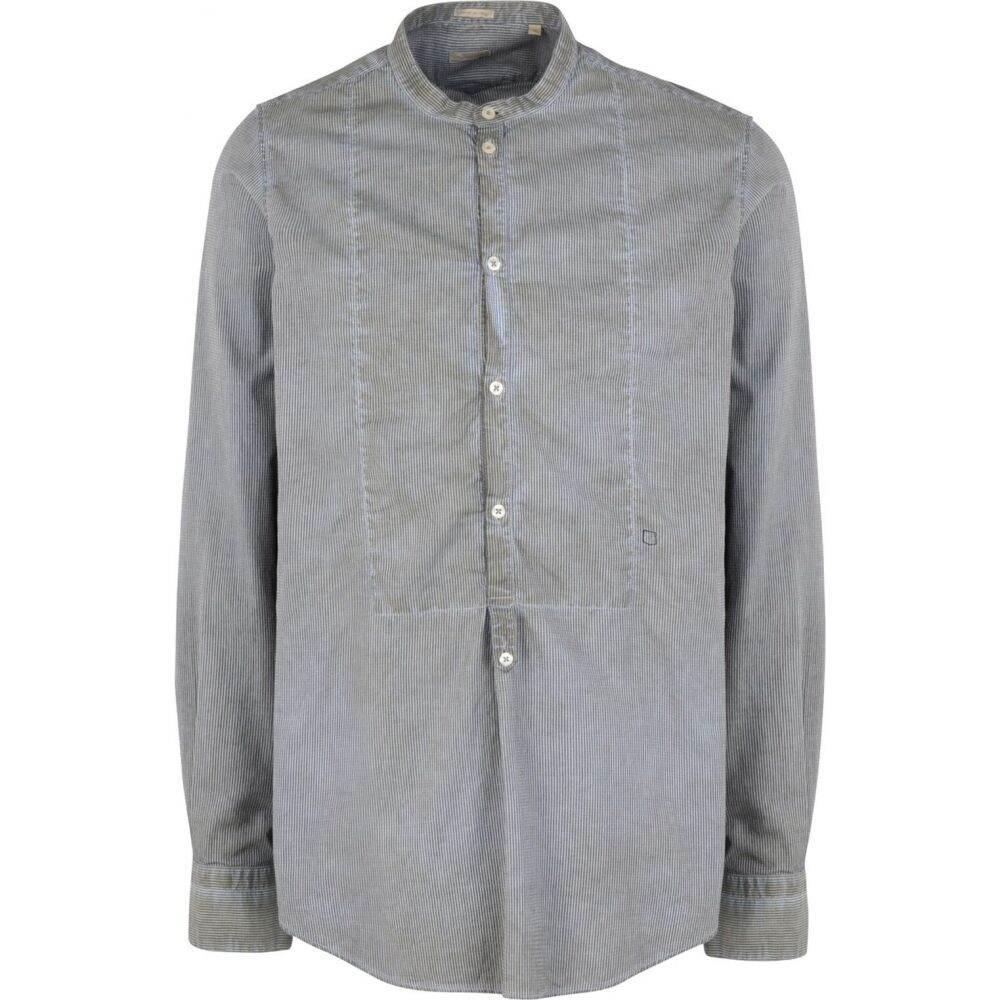 マッシモ アルバ MASSIMO ALBA メンズ シャツ トップス【kos striped shirt】Khaki