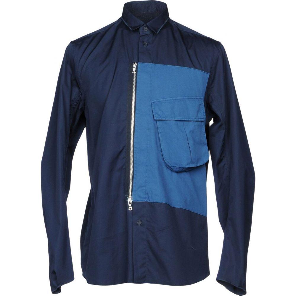 オーエーエムシー OAMC メンズ シャツ トップス【patterned shirt】Dark blue