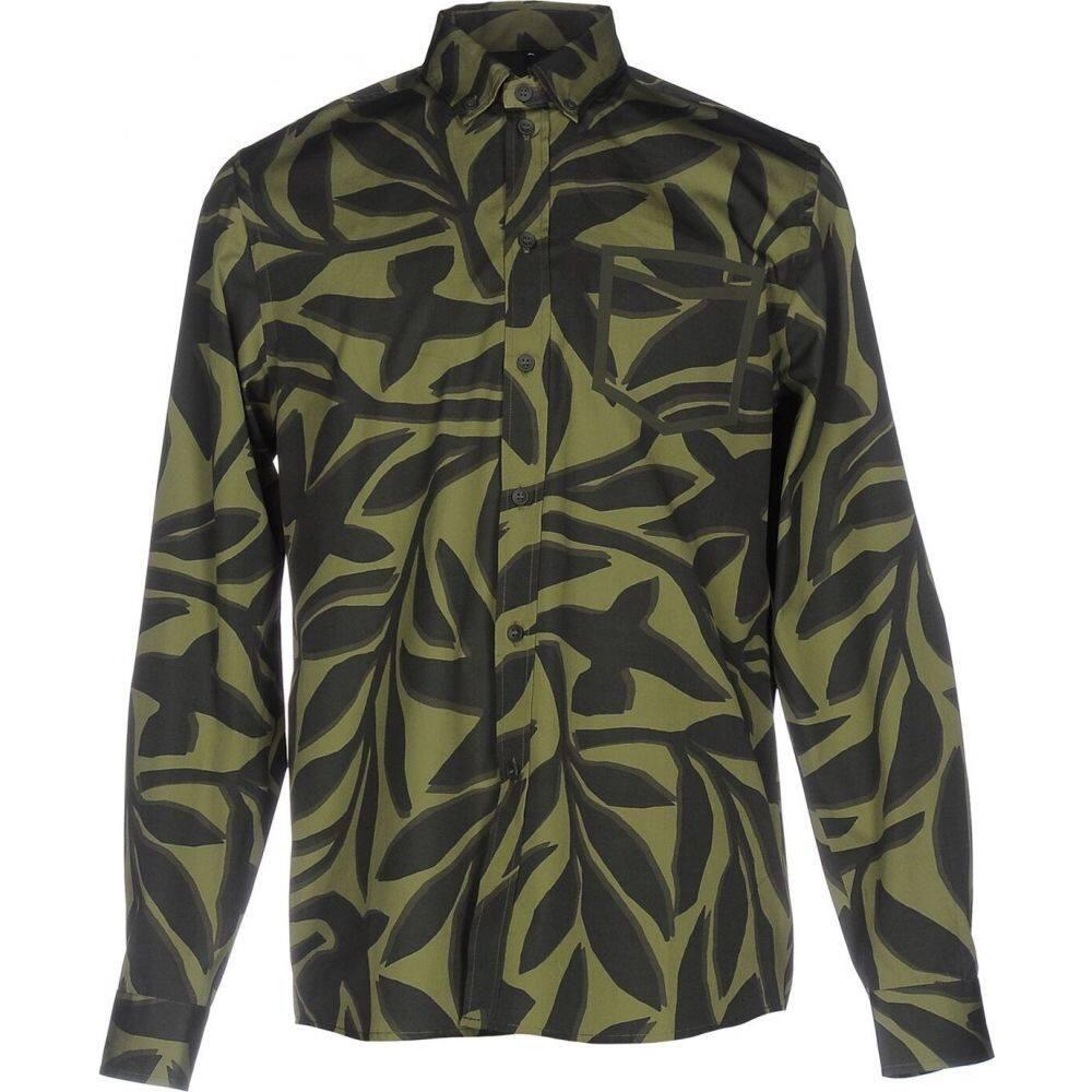 オーエーエムシー OAMC メンズ シャツ トップス【patterned shirt】Military green