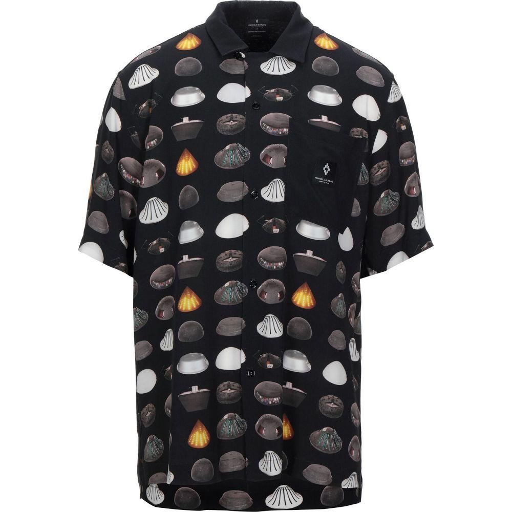 マルセロバーロン MARCELO BURLON メンズ シャツ トップス【patterned shirt】Black