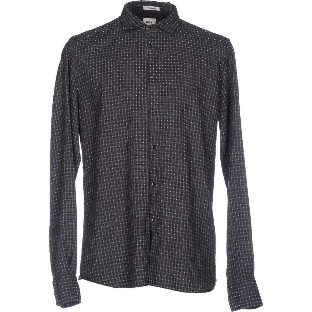 オフィチーナ トレンタ セイ OFFICINA 36 メンズ シャツ トップス【checked shirt】Steel grey