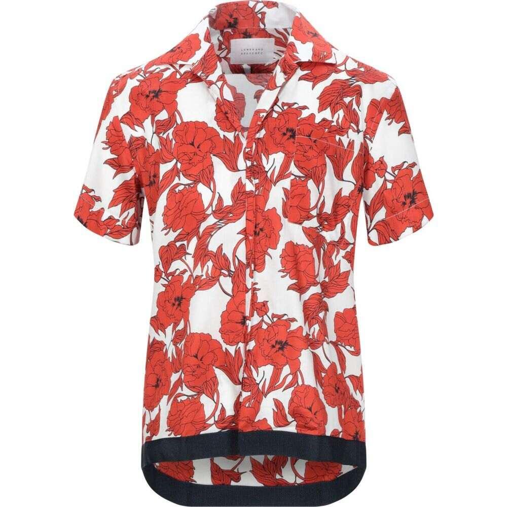 ロウブランド LOW BRAND メンズ シャツ トップス【patterned shirt】Red
