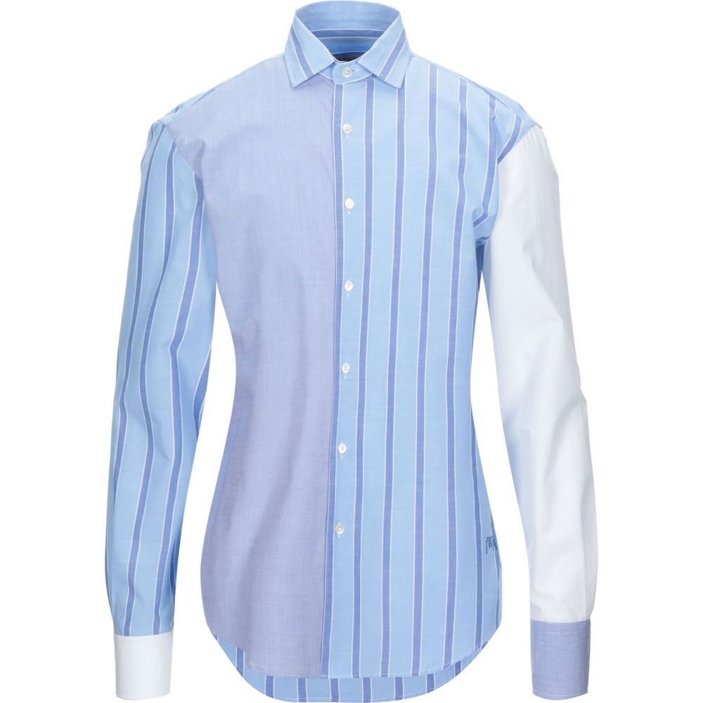 J.W.アンダーソン JW ANDERSON メンズ シャツ トップス【striped shirt】Sky blue