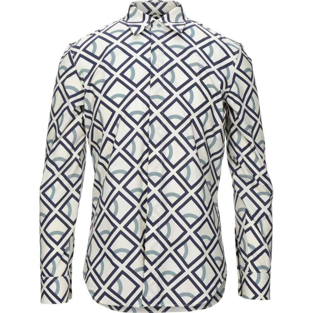 メゾン マルジェラ MAISON MARGIELA メンズ シャツ トップス【patterned shirt】Ivory