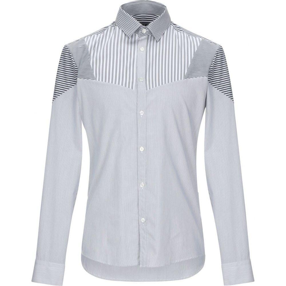 LHU アーバン LHU URBAN メンズ シャツ トップス【striped shirt】Light grey