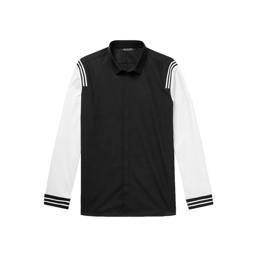 ニール バレット NEIL BARRETT メンズ シャツ トップス【patterned shirt】Black