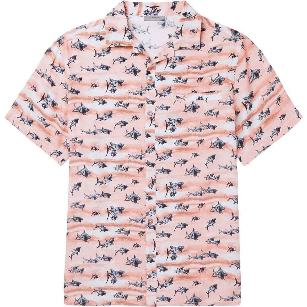 ランバン LANVIN メンズ シャツ トップス【patterned shirt】Pink