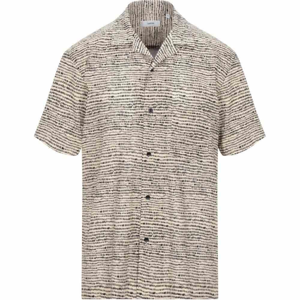 マウロ グリフォーニ MAURO GRIFONI メンズ シャツ トップス【patterned shirt】Beige